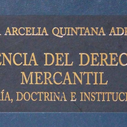 La ciencia del derecho mercantil