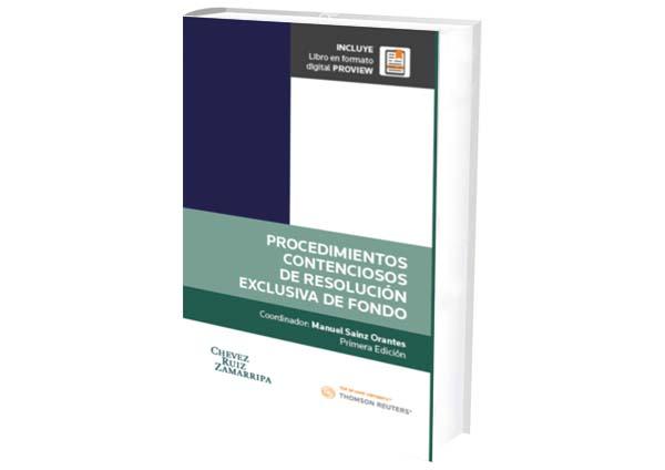 portal foro jurídico libro proceso contencioso