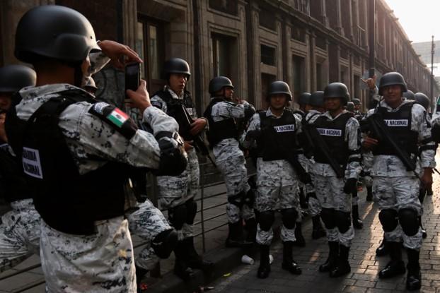 foro jurídico guardia nacional en el desfile