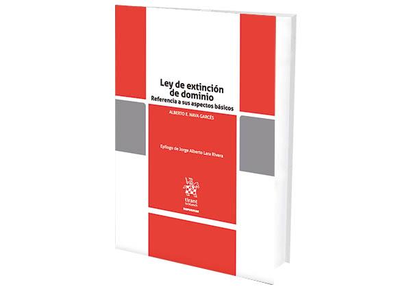 foro jurídico libros ley de extinción de dominio
