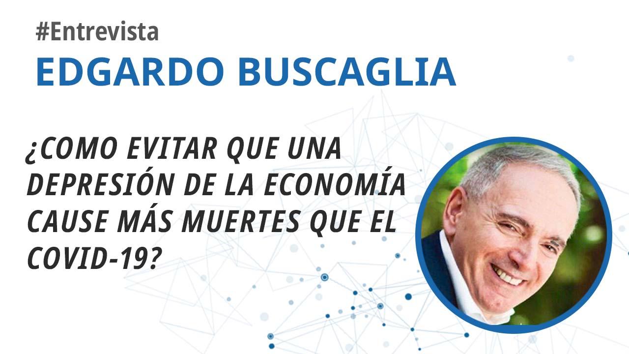 foro jurídico entrevista a Edgardo Buscaglia