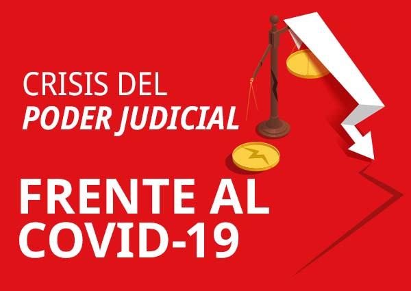 foro jurídico crisis en el poder judicial por la pandemia