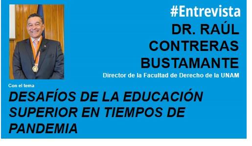foro jurídico Desafíos de la Educación Superior en tiempos de Pandemia