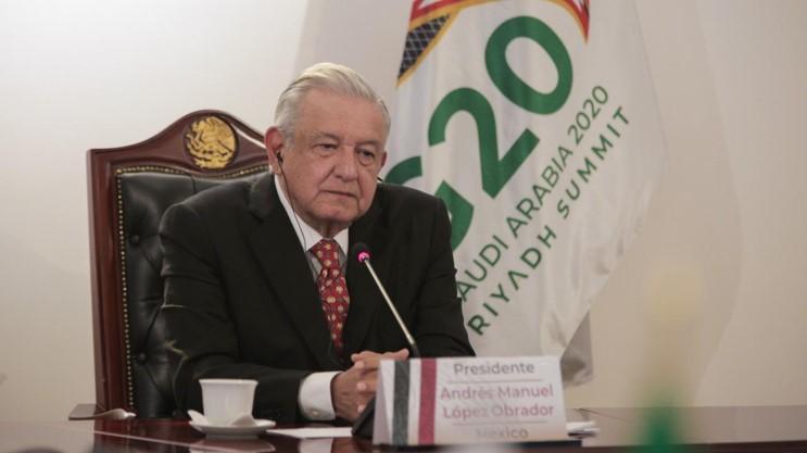 foro jurídico participación de AMLO en la cumbre del G20