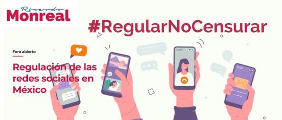 foro jurídico Monreal propone regular las redes sociales
