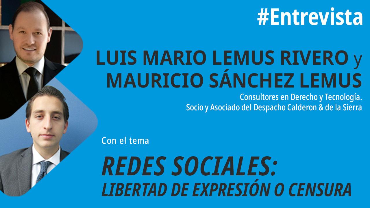foro jurídico Redes Sociales, libertad de expresión o censura