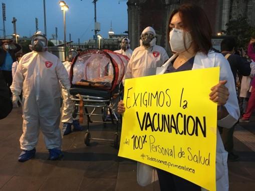 foro jurídico Médicos privados piden ser vacunados