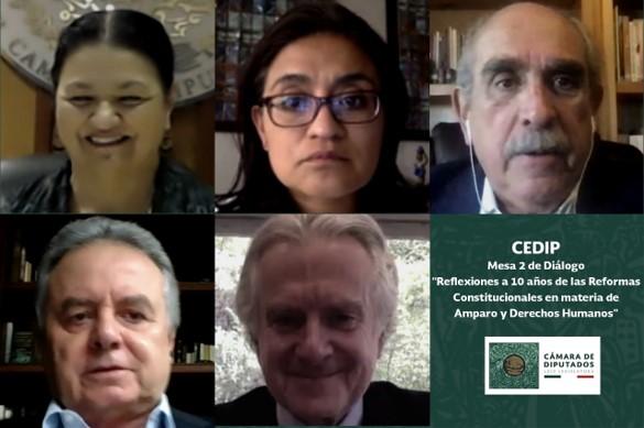 foro jurídico Celebran diez años de reformas constitucionales en materia de amparo y derechos humanos