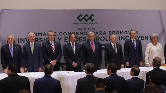 foro jurídico Consejo mexicano de negocios y amlo