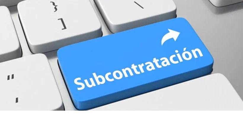 foro jurídico Subcontratación