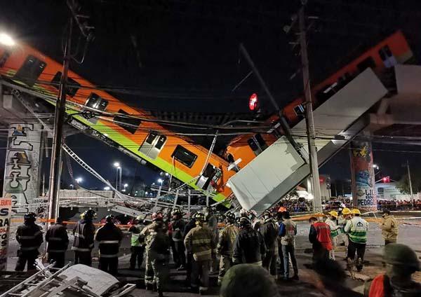 La jefa de gobierno confirmó la muerte de 13 personas tras el colapso del Metro en la estación Olivo de la Linea 12 del Metro.