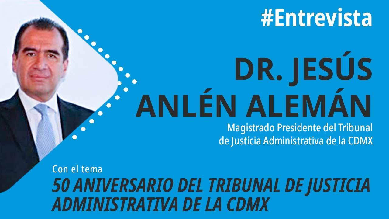 foro jurídico 50 aniversario del Tribunal de Justicia Administrativa de la CDMX