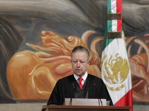 foro jurídico Arturo Zaldívar, SCJN