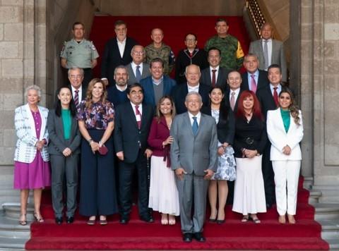 foro jurídico Gobernadores de Morena se reúnen con el presidente