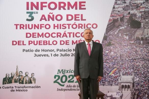 foro jurídico Informe AMLO 3er año de su elección