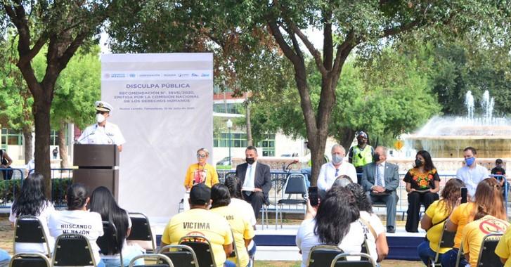 foro jurídico Semar disculpa pública por desaparición forzada en Nuevo Laredo
