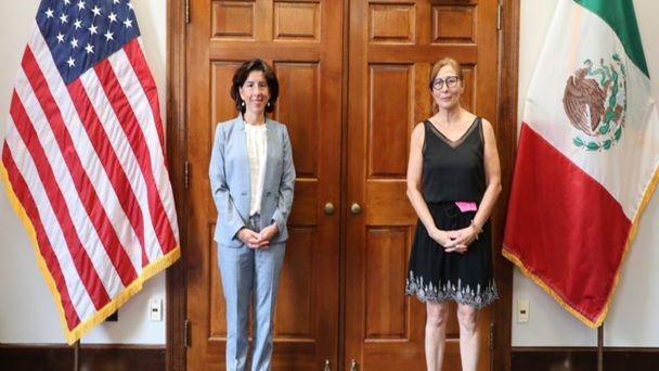 foro jurídico Tatiana Clouthier visita Washington