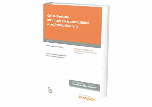 foro jurídico libros Consentimiento Informado y Responsabilidad en el Ámbito Sanitario