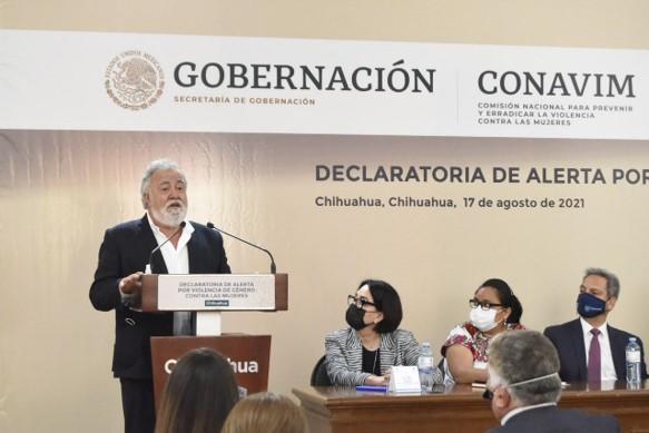 foro jurídico Alerta de Violencia de Género en Chihuahua