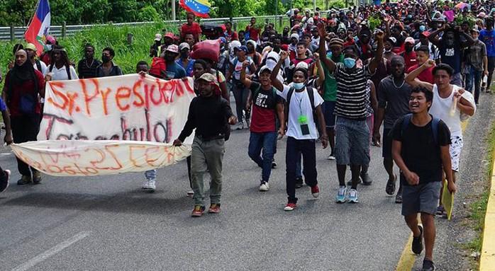 foro jurídico caravana migrante