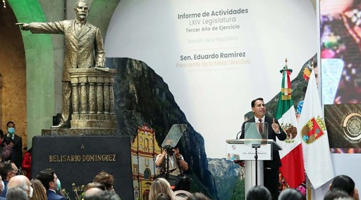 foro jurídico rinde informe Eduardo Ramírez