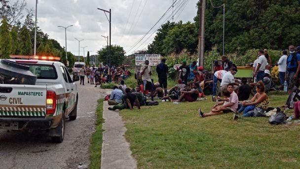 foro jurídico Detienen a migrantes en Mapastepec
