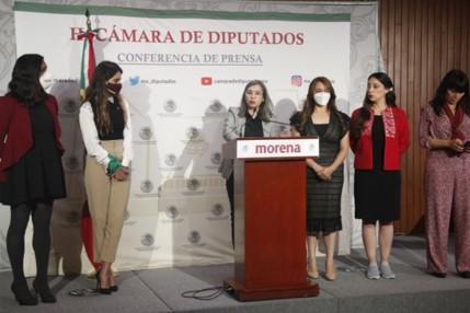 foro jurídico Diputadas de Morena llaman a congresos locales a cambiar sus códigos penales