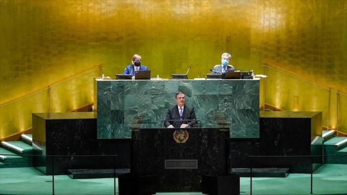 foro jurídico Ebrard en la ONU