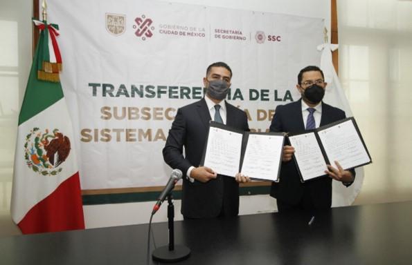 foro jurídico Harfuch y Batres firman acuerdo sistema penitenciario cdmx