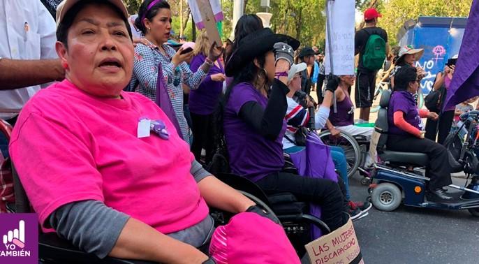foro jurídico Mujeres con discapacidad Yo también mx