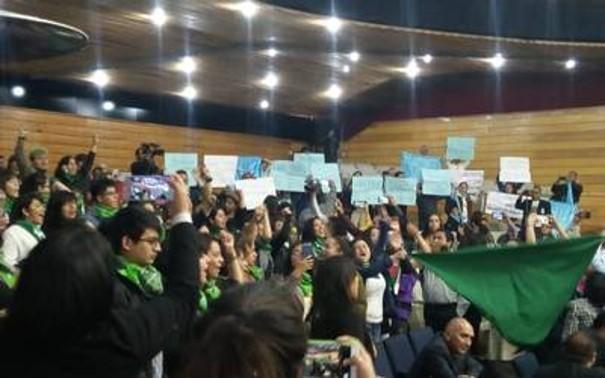 foro jurídico Provida y marea verde