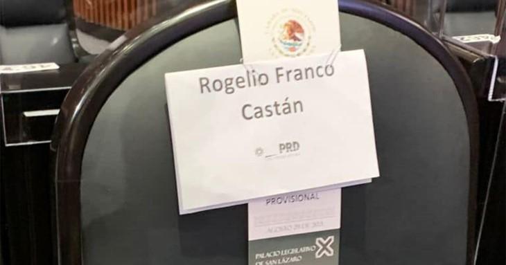 foro jurídico Rogelio Franco Castán diputado PRD