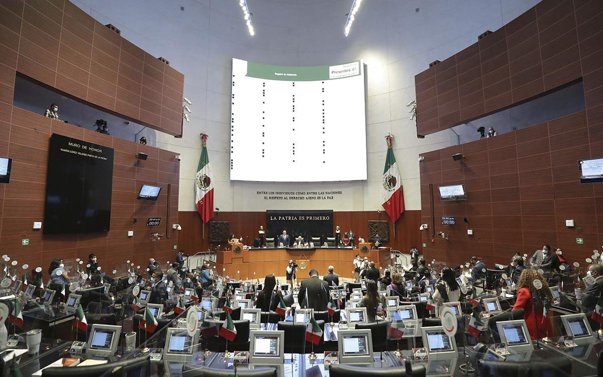 Senado aprueba reformas que permitirán al gobierno federal realizar sorteos para enajenar bienes