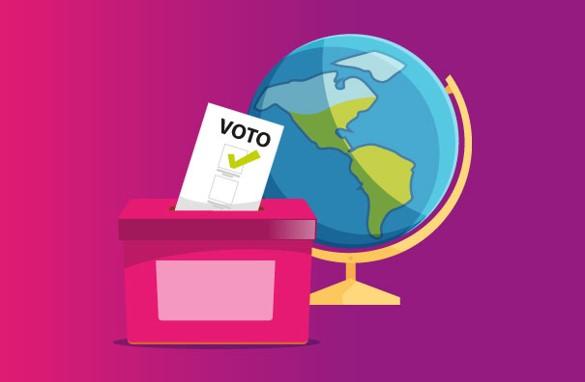 foro jurídico voto extranjero